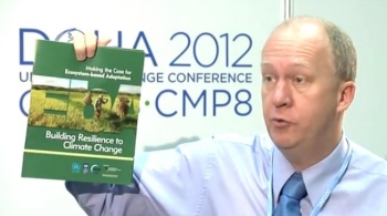 COP18 UN Climate Change Conference 2012 in Doha - Interview with Keith Alverson
