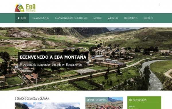 Peru Mt EbA site fully launched