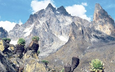 East Africa's iconic mountains are losing their snow